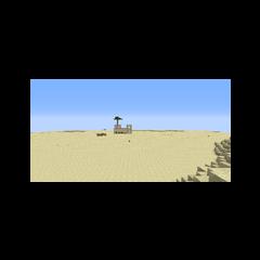 Одинокая крепость в пустыне Ближнего Харада