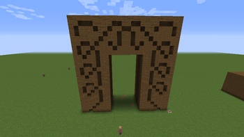 Doorframe Carving