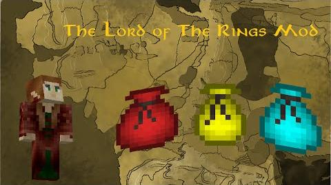 Minecraft The Lord of The Rings Mod Customisable Pouches!