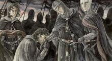 Anke Eißmann - Ohtar takes leave of Isildur