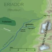Rivendell map