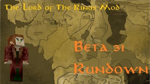 Minecraft The Lord of The Rings Mod Beta 31 Rhûndown
