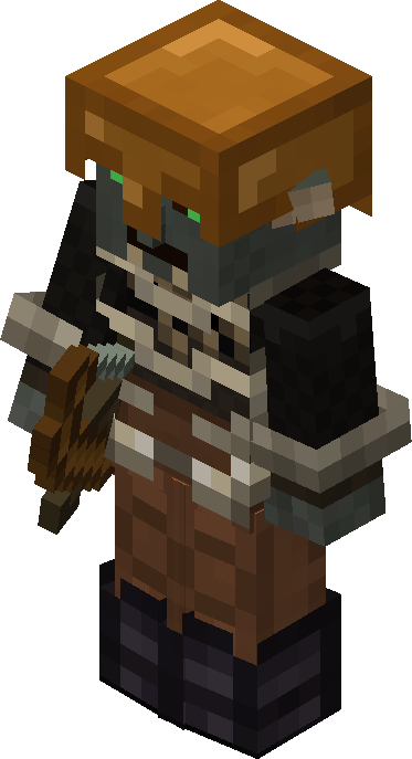 Gundabad Orc Archer The Lord Of The Rings Minecraft Mod