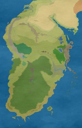 Harad continent