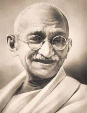 Pacifism Gandhi