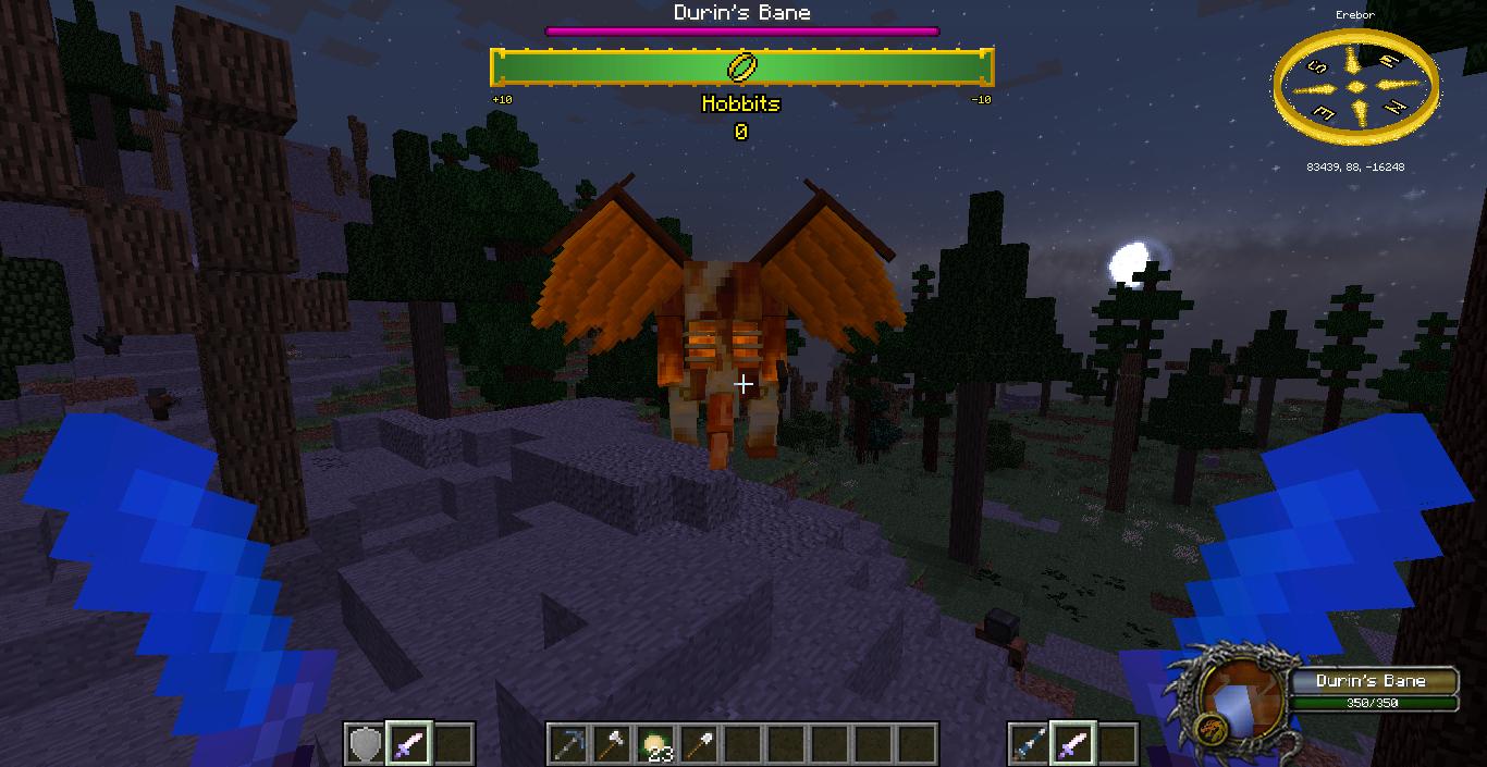 User blog:VideoGamer0516/Custom NPCs + LotR Mod | The Lord
