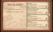 4 of 5 Wood-elven Kill Quests