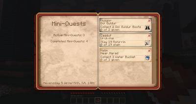 Mini-quest Beta 20