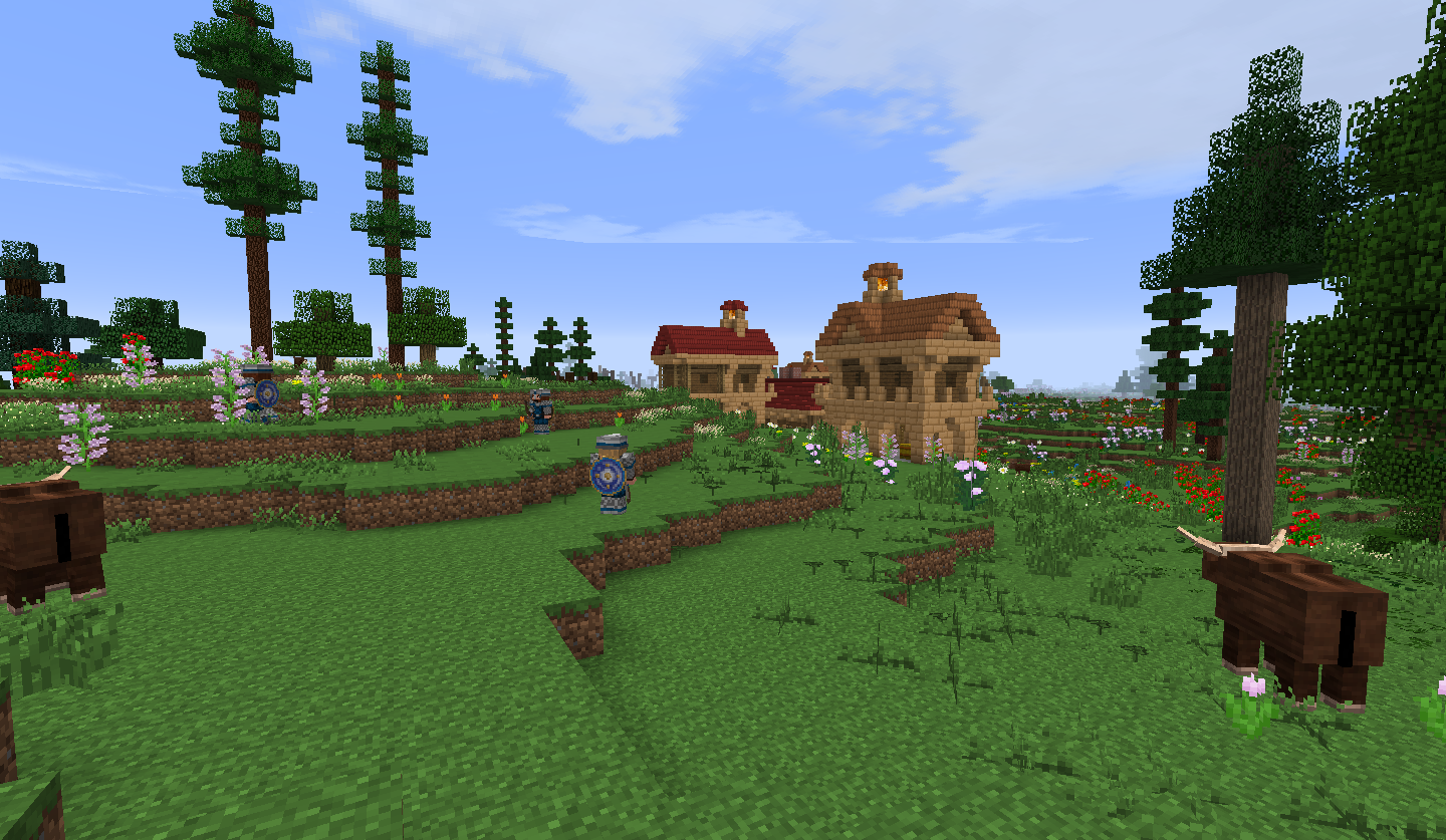 Dale Biome The Lord Of The Rings Minecraft Mod Wiki Fandom