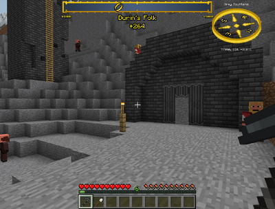 Entrance To The Stronghold