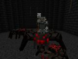 Mordor-Ork Spinnenhalter