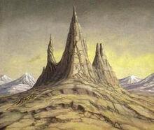 Larry Elmore - Mount Gundabad