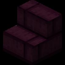 Obsidian Utumno Brick Stairs