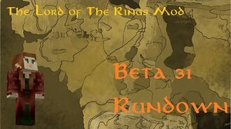 Minecraft The Lord of The Rings Mod- Beta 31 Rhûndown