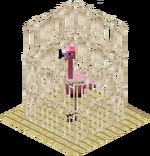 BirdFlamingoCage