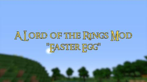 Lord of the Rings Mod New Years Easter Egg