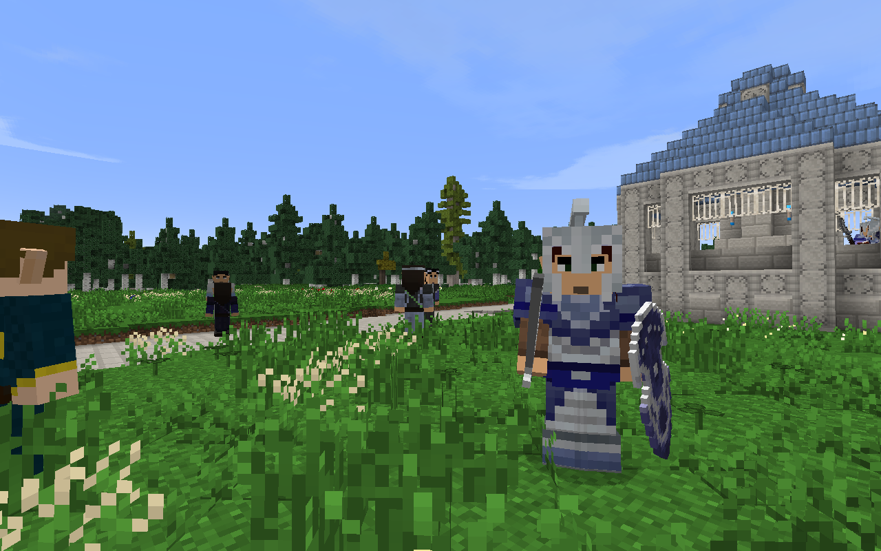 High Elves Faction The Lord Of The Rings Minecraft Mod