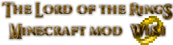The Lord of the Rings Minecraft Mod Wiki