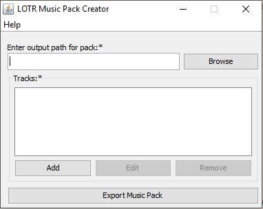 MusicPackCreatorMainScreen