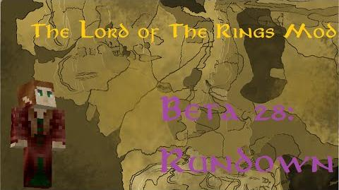 Minecraft The Lord of The Rings Mod Beta 28 Rundown