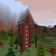 Башня Красных гор
