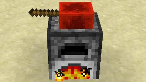 Hand-Crank Furnace -- Minecraft Command Block Creation -- By SethBling
