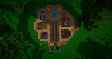 Hobbithöhle Raumeinteilung