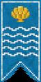 莱本宁的旗帜