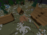 Деревня рудаурских горцев