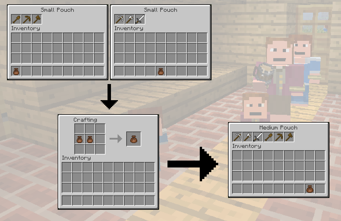 Pouch | The Lord of the Rings Minecraft Mod Wiki | FANDOM