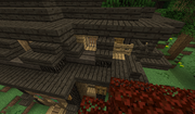 DotR Penni HQ - example of vanilla fence gate connecting to LOTR mod blocks