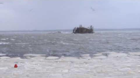January 12018 windstorm from Oyster Pond, Nova Scotia, part 1