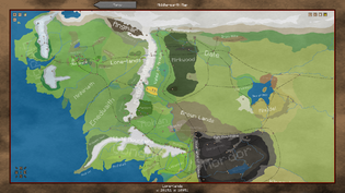 Middle-earth Waypoint Map
