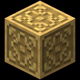 Block of Gilded Iron