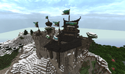 Tal Thoron citadel SE birdseye view
