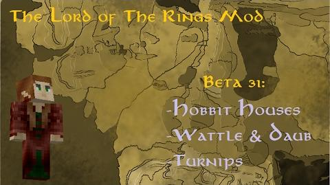 The Lord of the Rings Mod Beta 31 Hobbit Houses, Wattle & Daub & Turnips