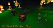 Morgul Crafting Table Old
