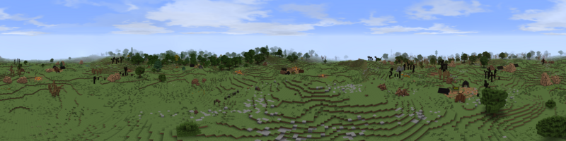 Panorama Uruk Highlands