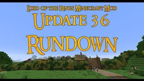 The Minecraft Lord of the Rings Mod Update 36 Rundown