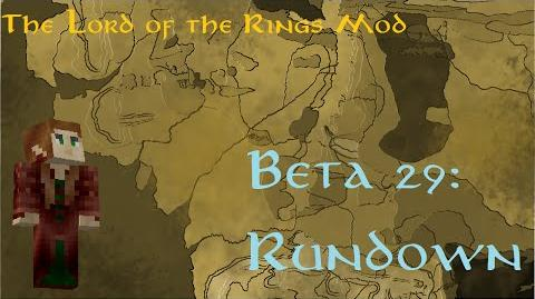 Minecraft The Lord of The Rings Mod Beta 29 Rundown