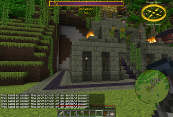 Tauredian Pyramid Buried Entrance The Lord Of The Rings Minecraft
