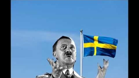 Sweden National anthem EAR RAPE