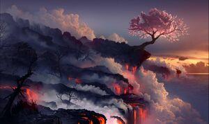 Giant Cherry Tree Inspiration