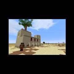 Крепость Ближнего Харада в полупустыне