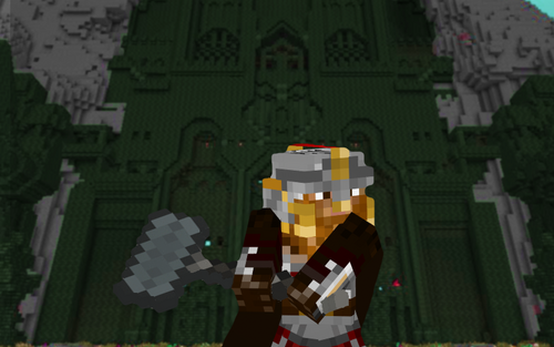 Lorddaintheawesome minecraft