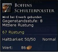 Boffins Schulterpolster