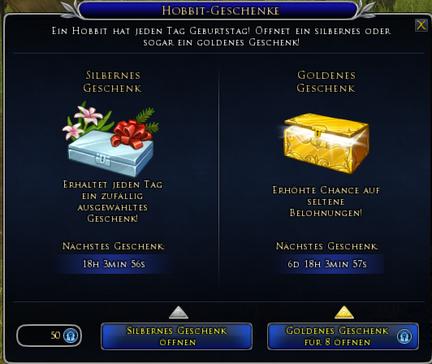 Hobbit-Geschenke