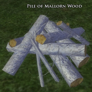 Pile of Mallon Wood
