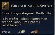 Grosser Moria Spiegel Tooltipp