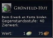 Grünfeld-Hut Tooltipp